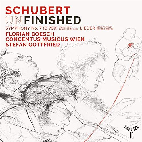 Schubert , Franz - Symphony No. 7 (Un)Finished (D 759)  / Lieder (Boesch, Concentus Musicus Wien, Gottfried)