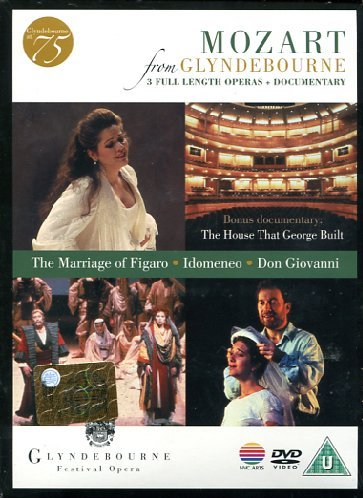 Mozart , Wolfgang Amadeus - Mozart From Glyndebourne (The Marriage Of Figaro / Idomeneo / Don Giovanni)