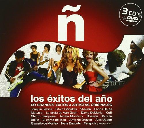 Sampler - Los Exitos Del Ano (3CD 1DVD SET)
