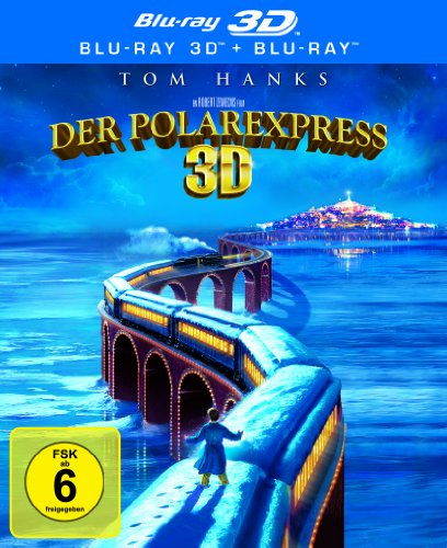 Blu-ray - Der Polarexpress (3D) [3D Blu-ray]