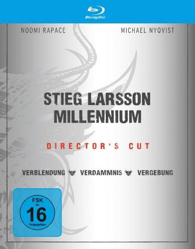 Blu-ray - Millennium Trilogie (Verblendung / Verdammnis / Vergebung) (Director's Cut)