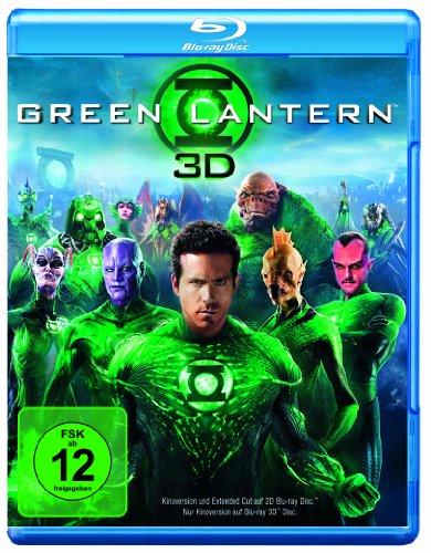 Blu-ray - Green Lantern 3D (  Blu-ray Extended Cut)