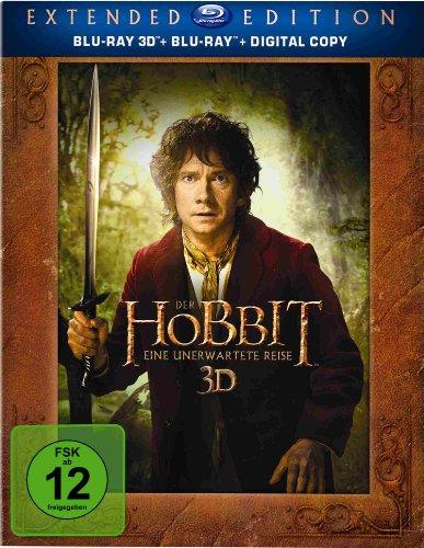 Blu-ray - Der Hobbit - Eine unerwartete Reise (Extended Edition) (3D)