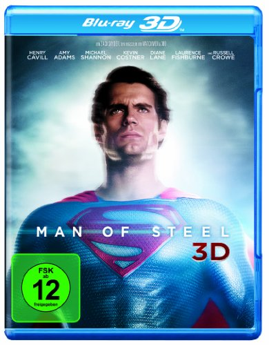 Blu-ray - Man Of Steel 3D