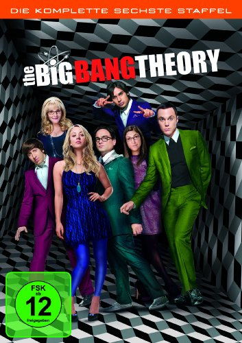 DVD - The Big Bang Theory - Staffel 6 [3 DVDs]