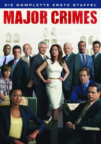 DVD - Major Crimes - Staffel 1