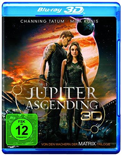 Blu-ray - Jupiter Ascending 3D