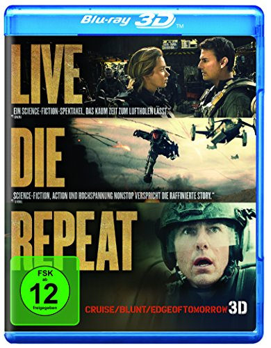 Blu-ray - Edge Of Tomorrow - Live. Die. Repeat. 3D