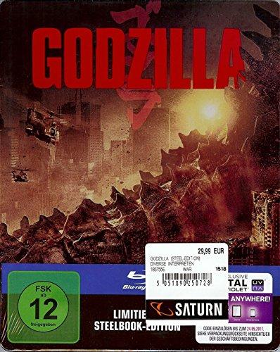 Blu-ray - Godzilla (Limited Steelbook Edition)