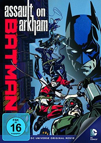 DVD - Batman - Assault on Arkham