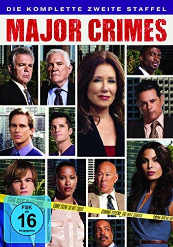 DVD - Major Crimes - Staffel 2