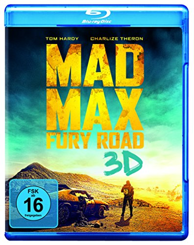 Blu-ray - Mad Max - Fury Road 3D