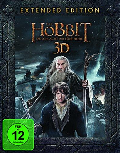 Blu-ray - Der Hobbit - Die Schlacht der fünf Heere 3D (Extended Edition)