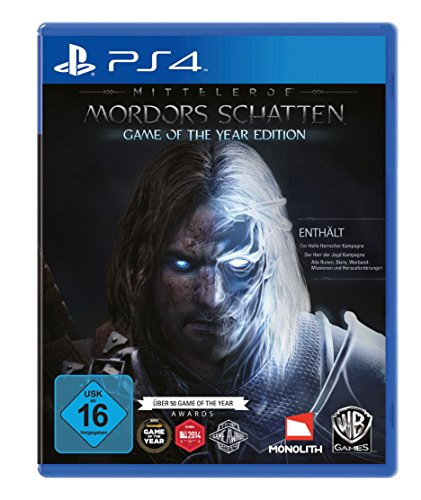 Playstation 4 - Mittelerde: Mordors Schatten - Game of the Year Edition - [PlayStation 4]