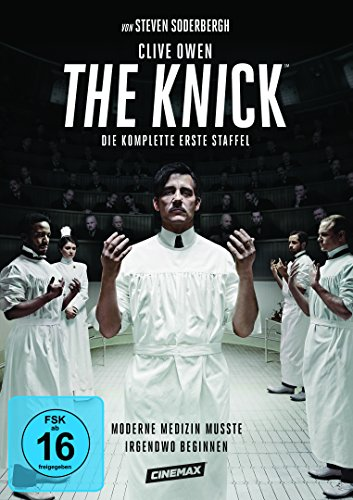 DVD - The Knick - Die komplette erste Staffel [4 DVDs]