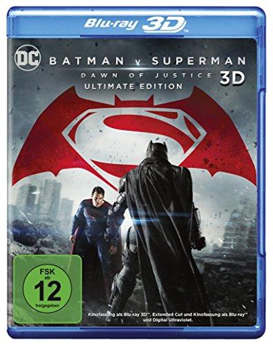 Blu-ray - Batman v Superman - Dawn of Justice 3D (Ultimate Edition)