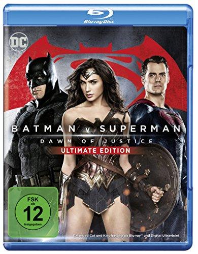 Blu-ray - Batman v Superman - Dawn of Justice (Ultimate Edition)