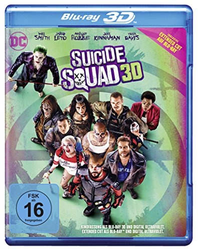 Blu-ray - Suicide Squad 3D (Extended Cut)
