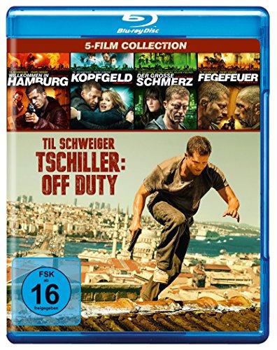 Blu-ray - Tatort: Hamburg - Tschiller/Gümer (Willkommen in Hamburg/Kopfgeld/Der grosse Schmerz/Fegerfeuer/Tschiller: Off Duty) (5-Film Collection)