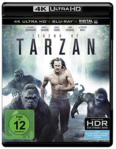 Blu-ray - Legend Of Tarzan Ultra HD (  Blu-ray)