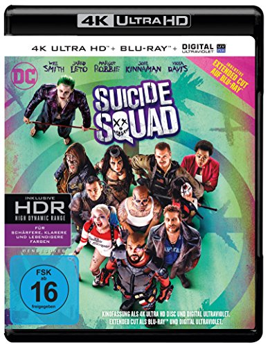Blu-ray - Suicide Squad Ultra HD (Extended Cut)