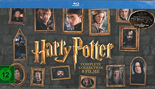 Blu-ray - Harry Potter - Complete Collection 8 Filme
