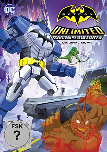 DVD - Batman Unlimited: Mechs vs. Mutants