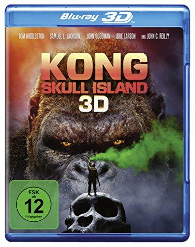 Blu-ray - Kong - Skull Island 3D