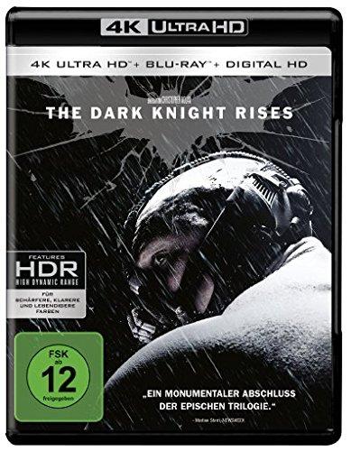 Blu-ray - The Dark Knight Rises (4K Ultra HD + 2D-Blu-ray) (2-Disc Version)  [Blu-ray]