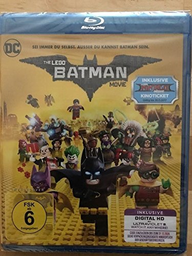 Blu-ray - The Lego Batman Movie
