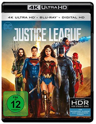 Blu-ray - Justice League (4K Ultra HD + 2D Blu-ray) [Blu-ray]
