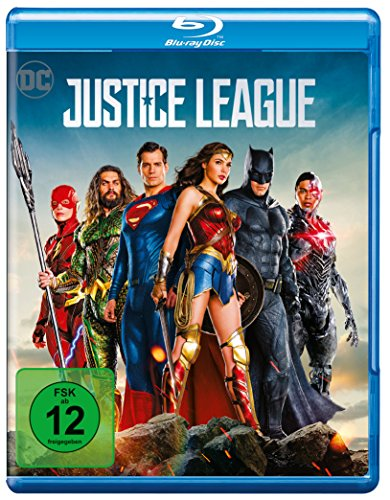 Blu-ray - Justice League