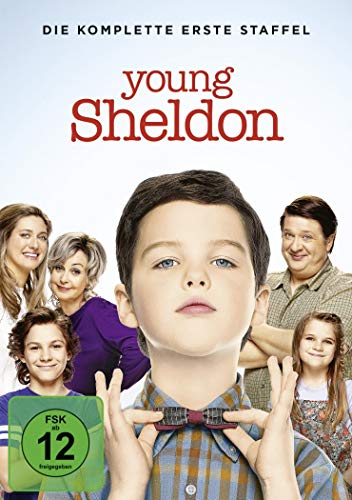 DVD - Young Sheldon: Die komplette 1. Staffel [DVD]