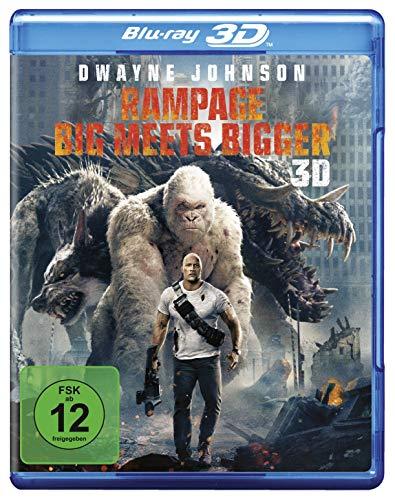 Blu-ray - Rampage: Big Meets Bigger 3D
