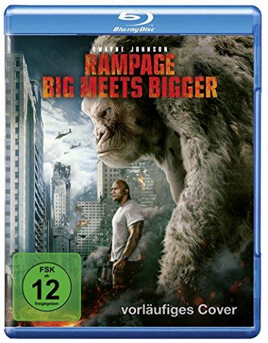 Blu-ray - Rampage: Big Meets Bigger