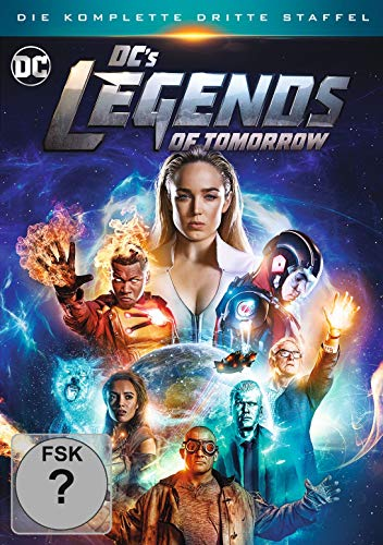 DVD - DC's Legends Of Tomorrow - Staffel 3