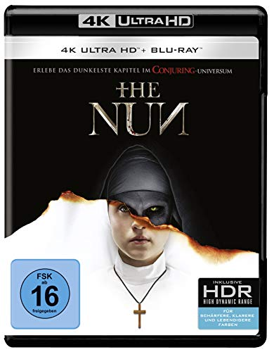 Blu-ray - The Nun  (4K Ultra HD) (+ Blu-ray 2D)