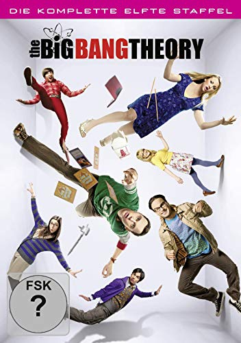 DVD - The Big Bang Theory - Die komplette elfte Staffel [2 DVDs]