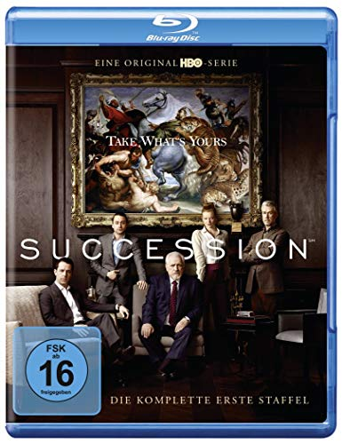 Blu-ray - Succession - Staffel 1