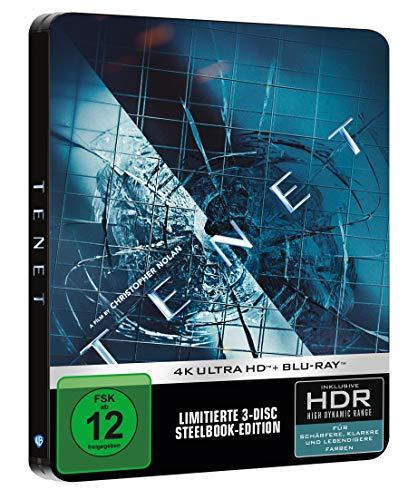 Blu-ray - Tenet Ultra HD (  Blu-ray) (Limited 3-Disc Steelbook Edition)