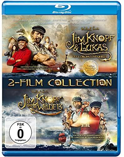 Blu-ray - Jim Knopf & Lukas der Lokomotivführer / Jim Knopf und die Wilde 13 (2-Film Collection)