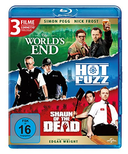 Blu-ray - Cornetto Trilogy [Blu-ray]