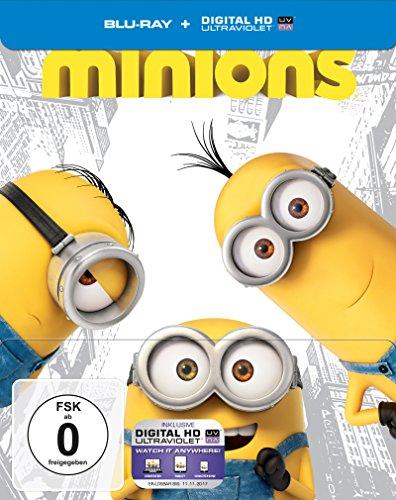 Blu-ray - Minions (Limited Steelbook Edition)