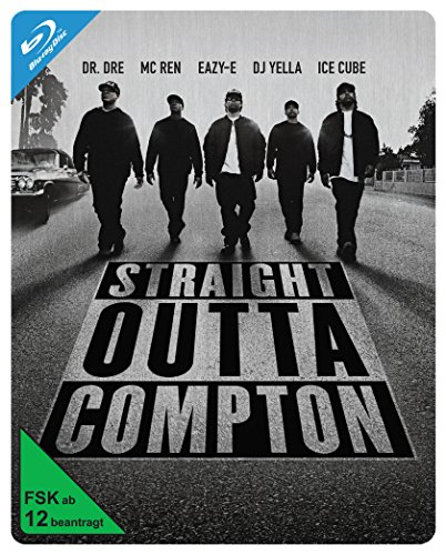 Blu-ray - Straight Outta Compton - Steelbook [Blu-ray] [Limited Edition]