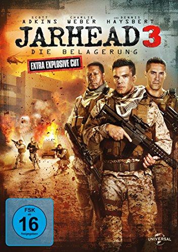 DVD - Jarhead 3 - Die Belagerung (Extra Explosive Cut Edition)