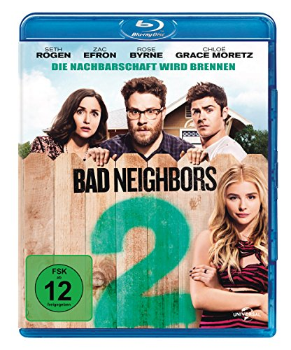 Blu-ray - Bad Neighbors 2