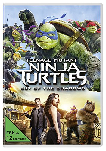 DVD - Teenage Mutant Ninja Turtles - Out Of The Shadows