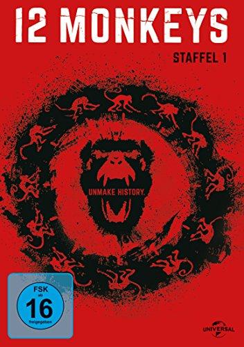 DVD - 12 Monkeys - Staffel 1