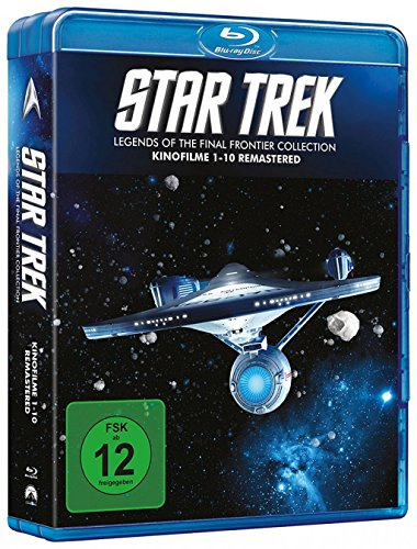 Blu-ray - Star Trek I-X - Die Kinofilme 1-10 - Legends of the Final Frontier Collection (10 Blu-rays)