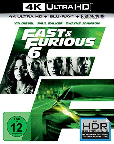 Blu-ray - Fast & Furious 6 Ultra HD (  Blu-ray)